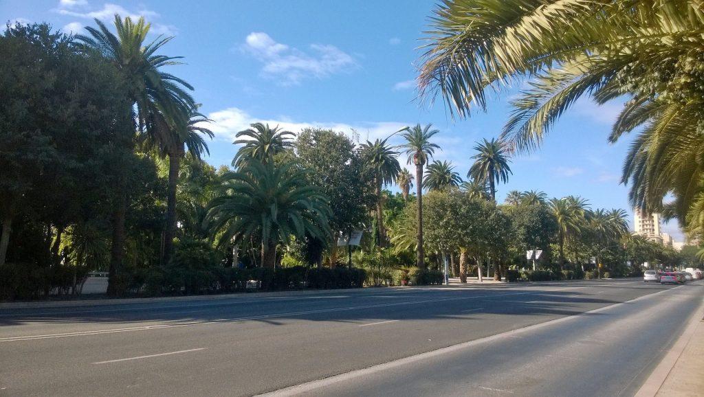 Estudiar en España: Alameda principal, Málaga