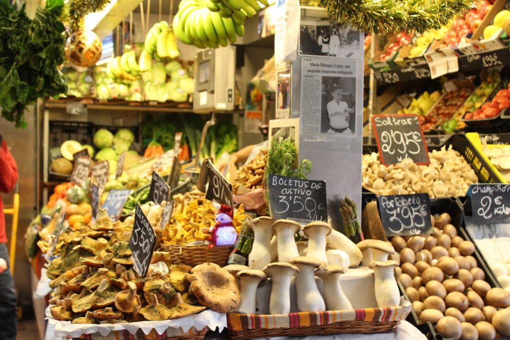 Estudiar en España: Mercado de Atarazanas, Málaga