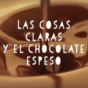 Aprender español con la frase hecha: Las cosas claras y el cocolate espeso.