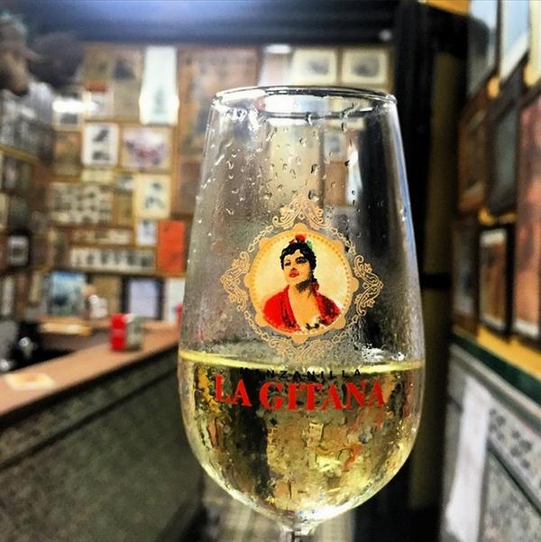 Tradiciones españolas vino Manzanilla