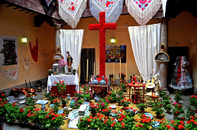 Granada Cruces de mayo